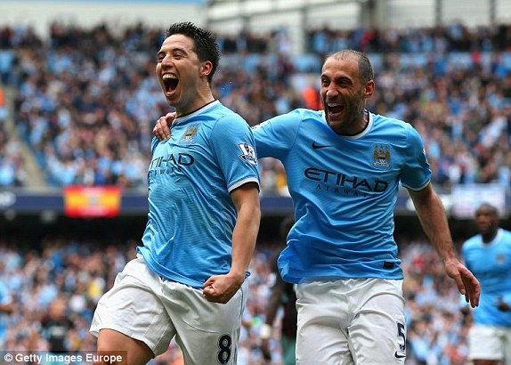 Manchester City Champion of Premier League