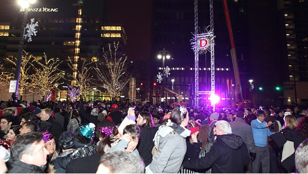 Detroit New Years Eve