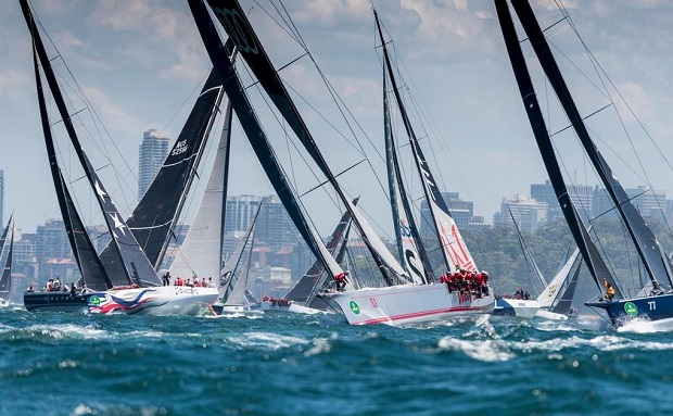 Sydney to Hobart Race by Rolex