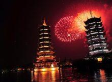 NYE Fireworks in Beijing