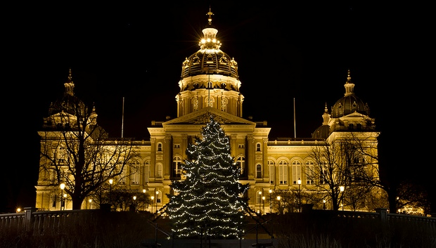 Des Moines New Years Eve in Iowa