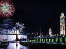 NYE Fireworks in Quebec