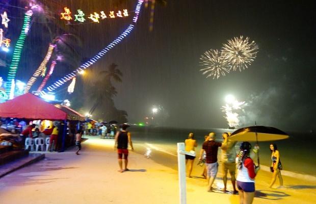 NYE Fireworks in Boracay