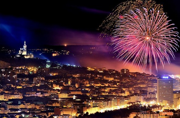 NYE Fireworks in Marseille