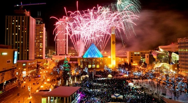 New Years Eve in Edmonton