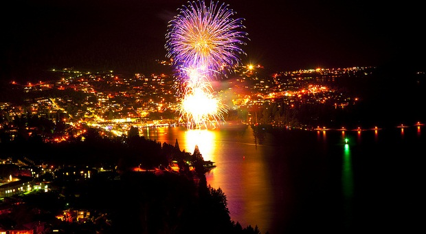 New Years Eve in Queenstown
