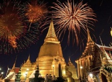 New Years Eve in Thailand cities
