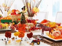 Thanksgiving Party Preparation
