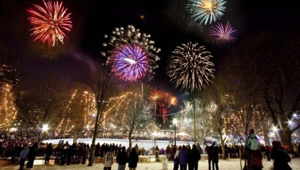 New Years Eve in Massachusetts
