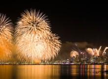 Auckland NYE Fireworks