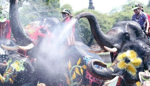 Thai Songkran New Year
