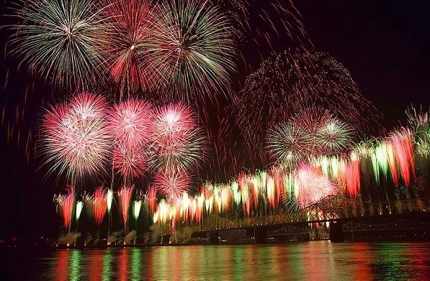 NYE Fireworks in Louisville