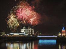 NYE Fireworks in Cape Town