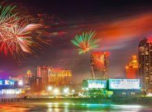 NYE Fireworks in Atlantic City