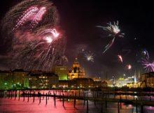 NYE Fireworks in St Petersburg