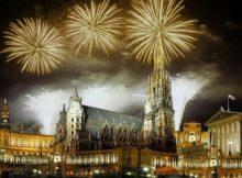 NYE Fireworks in Vienna