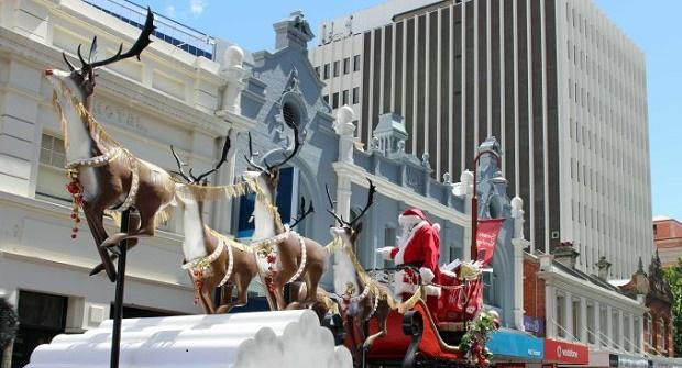 Christmas in Hobart city