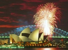 Nyew Years Eve in Australia and New Zealand