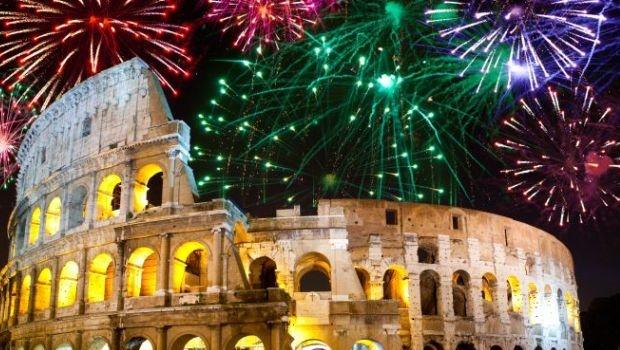 NYE Fireworks in Rome