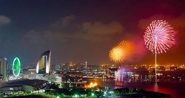 New Years Eve in Yokohama