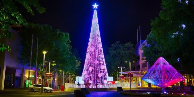 Xmas Decorations in Discover 2018 New Years Eve in Canberra