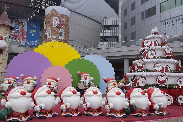 Christmas Decorations in Kaohsiung