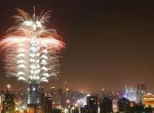 NYE Fireworks in Taipei