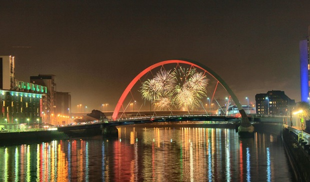 NYE Fireworks in Glasgow