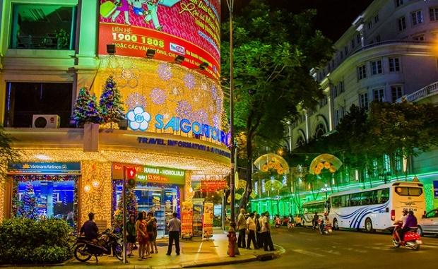 Dong Khoi Street in HCMC