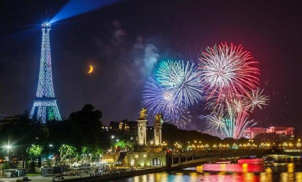 France New Years Eve