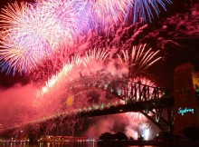 Sydney NYE Fireworks Program