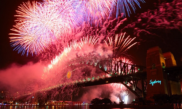 Sydney NYE Fireworks Program