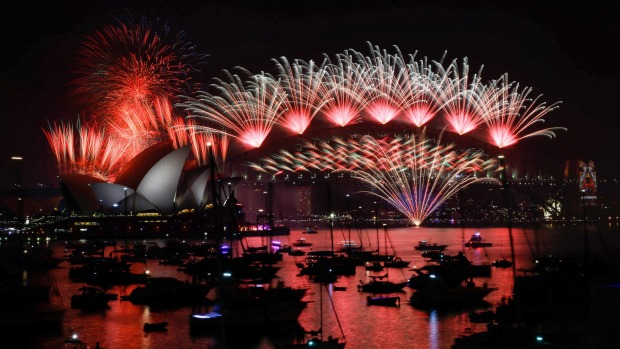 New Years Eve Fireworks in Sydney