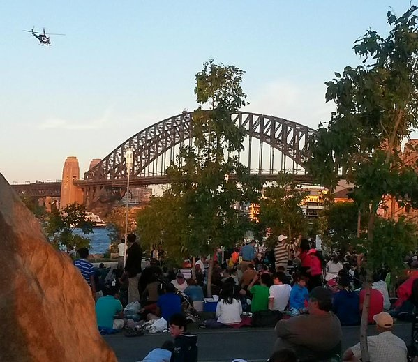Best place to see NYE fireworks
