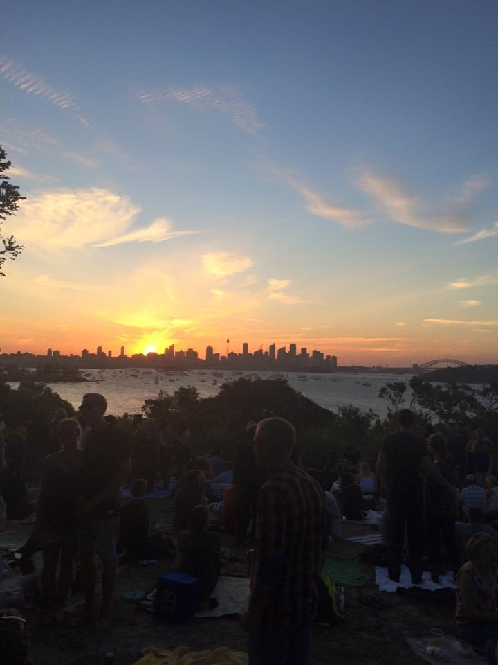 Last sunset of the year in Sydney