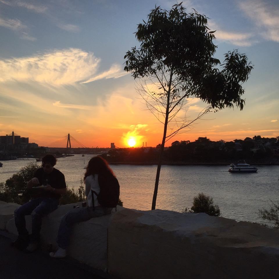 Last Sunset in Sydney