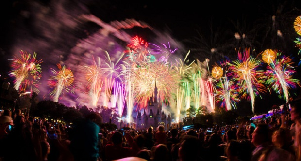 Disney World New Years Eve