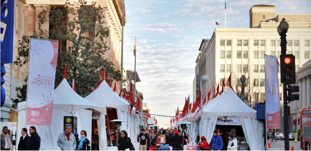 Christmas Market in Washington DC