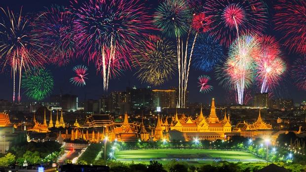 New Years Eve Fireworks in Bangkok