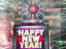 New Years Eve Ball Drop in Times Square