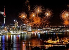 New Years Eve Fireworks in Aukland