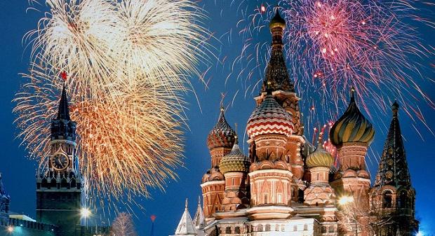 Moscow NYE Fireworks