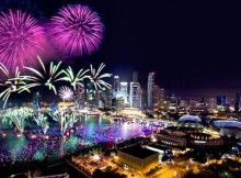 NYE Fireworks in Singapore