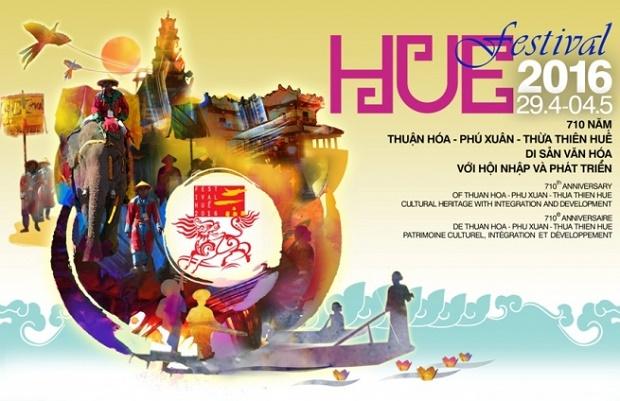 Banner of Hue Festival 2016