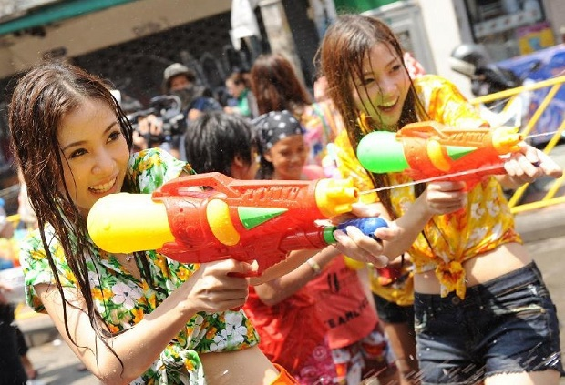 Songkran in Phuket