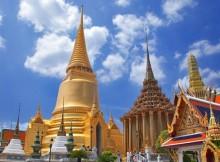 Wat phra keaw pagoda in Bangkpk