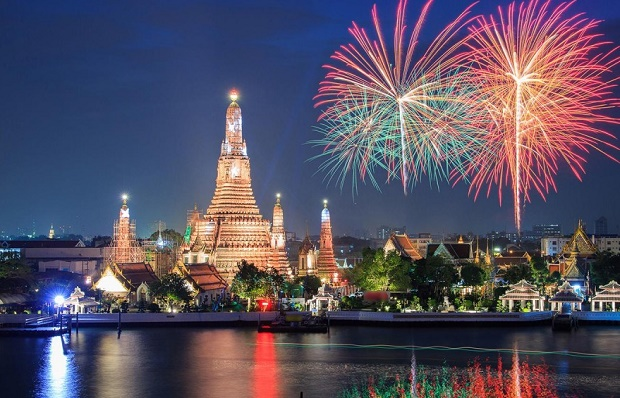 New Years Eve in Asia
