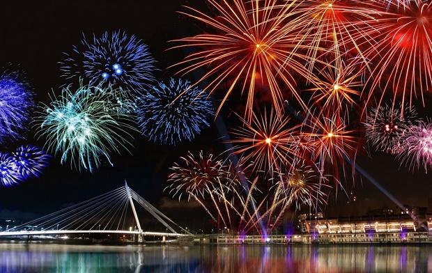 NYE Fireworks in Goa