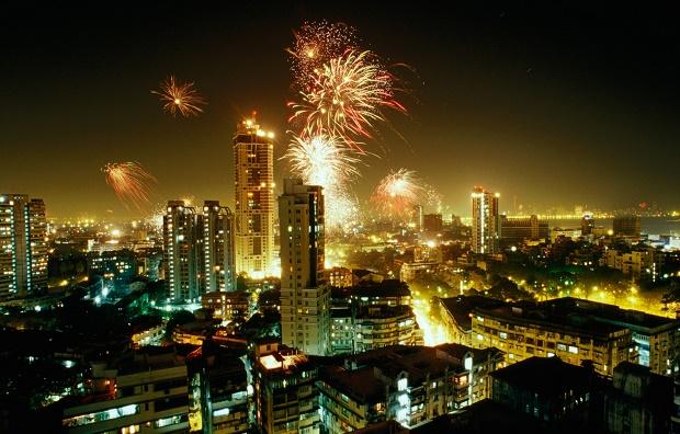 NYE Fireworks in Mumbai