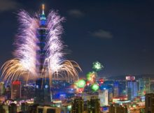 New Years Eve in Taiwan